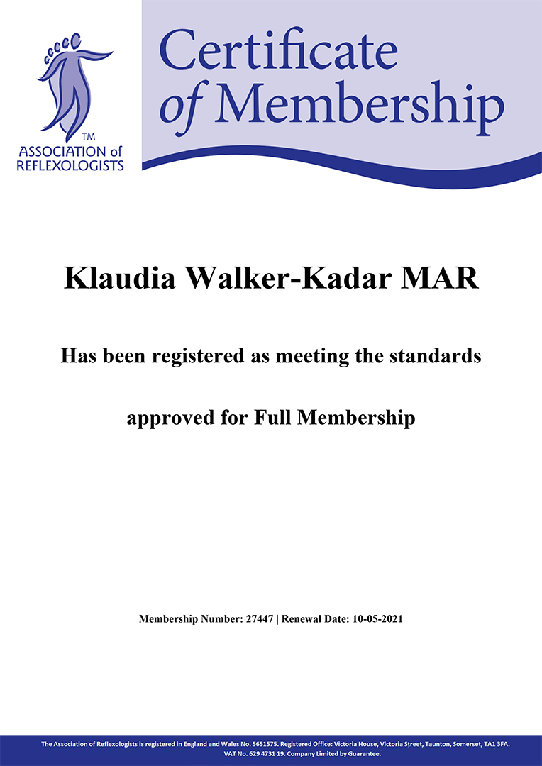 Association_of_Reflexologists_Klaudia_Walker_Kadar_2020