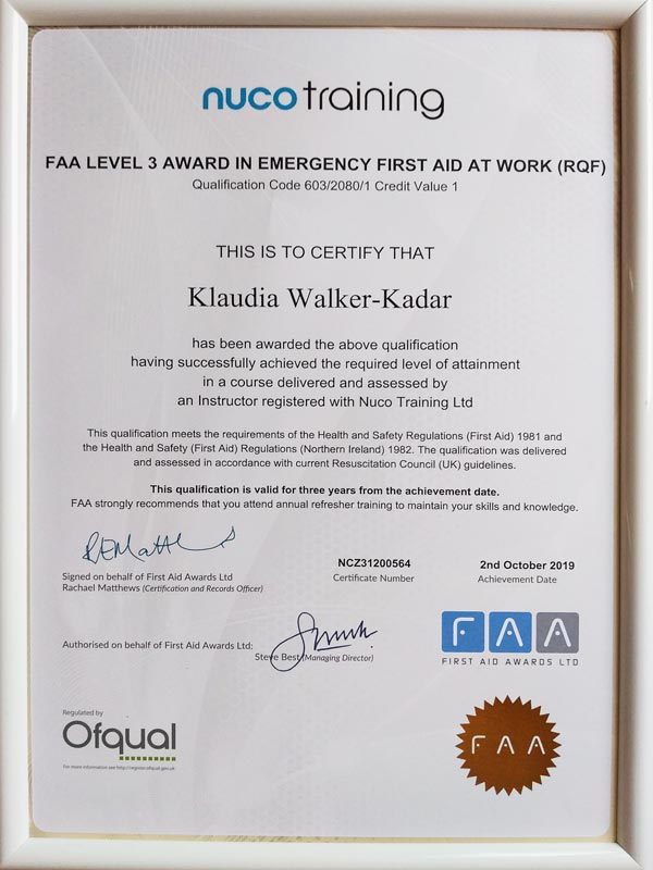 First_Aid_Klaudia_Walker_Kadar